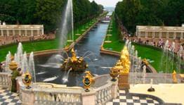 В Петергофе пройдет торжественное открытие фонтанов