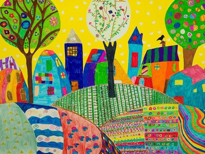 Конкурс детского рисунка «Город моего детства»