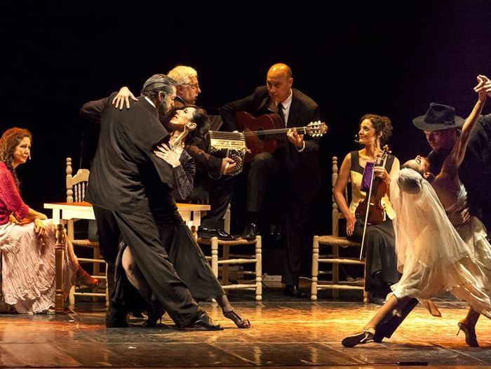 Театрализованное представление «Танго-шоу»