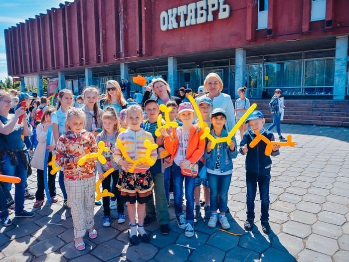День защиты детей в «Октябре»