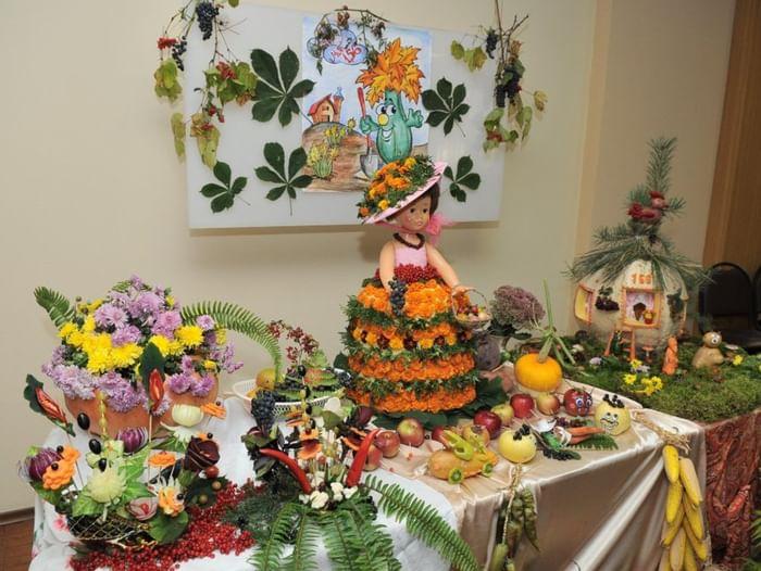 Цветочная композиция в детский сад