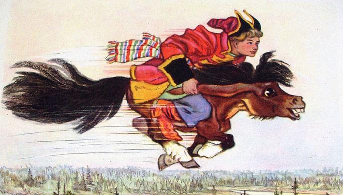 Сказочное богатство Петра Ершова