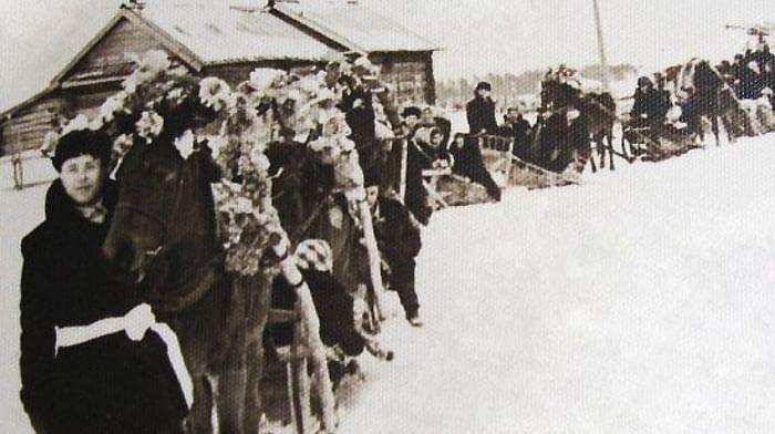 Свадебный обряд мордвы-мокши Алтайского края