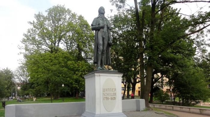 Памятник Фридриху Шиллеру в Калининграде