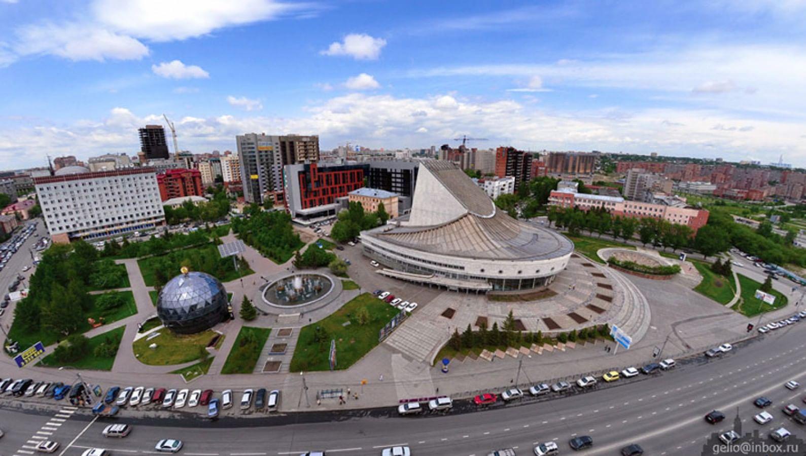 глобус театр в новосибирске фото