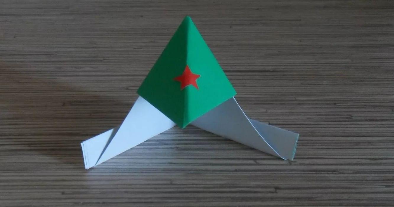 Военная пилотка из бумаги своими руками