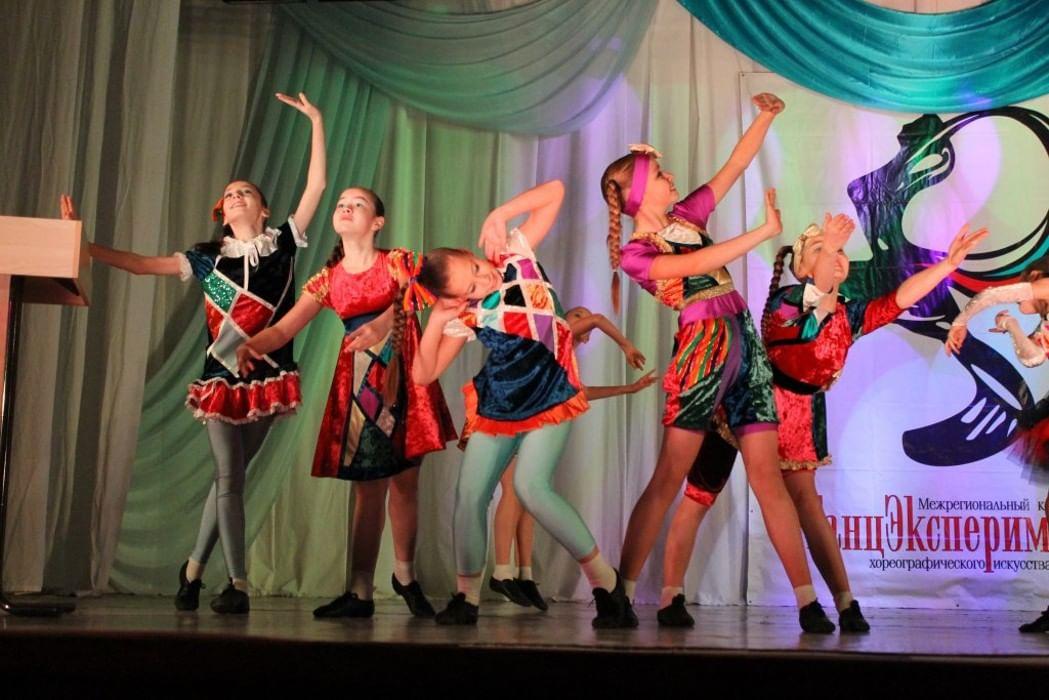 Танцевальный конкурс в космосе