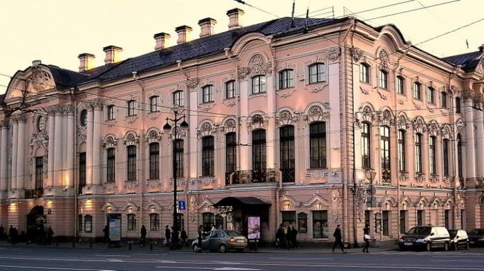 Государственный Русский музей, Строгановский дворец