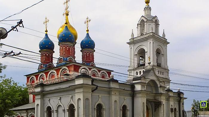 Храм вмч. Георгия Победоносца (Покрова пресвятой Богородицы) на Псковской горке в Москве