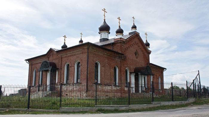 Храм Георгия Победоносца в Губернском Аргаяшского района Челябинской области