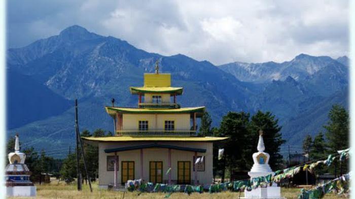 Курумканский дацан в Республике Бурятия